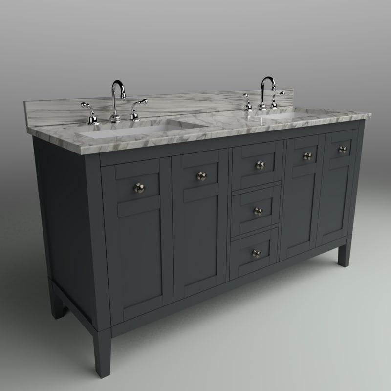 maili bath vanity sapphire model