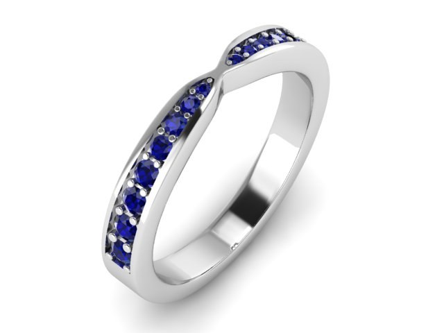 engagement band 3D model