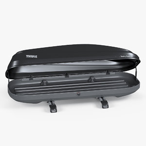car roof box thule 3D