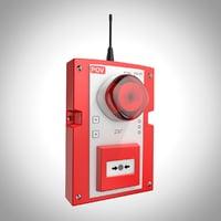 alarm sender 3D model