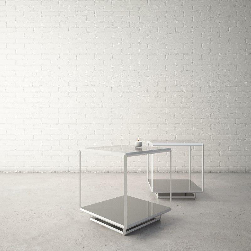 custom designed coffee table 3D