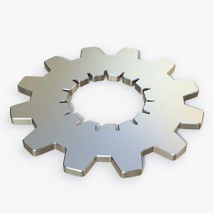 3D gear model