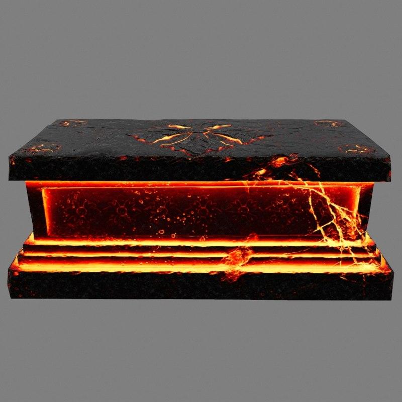 base lava model