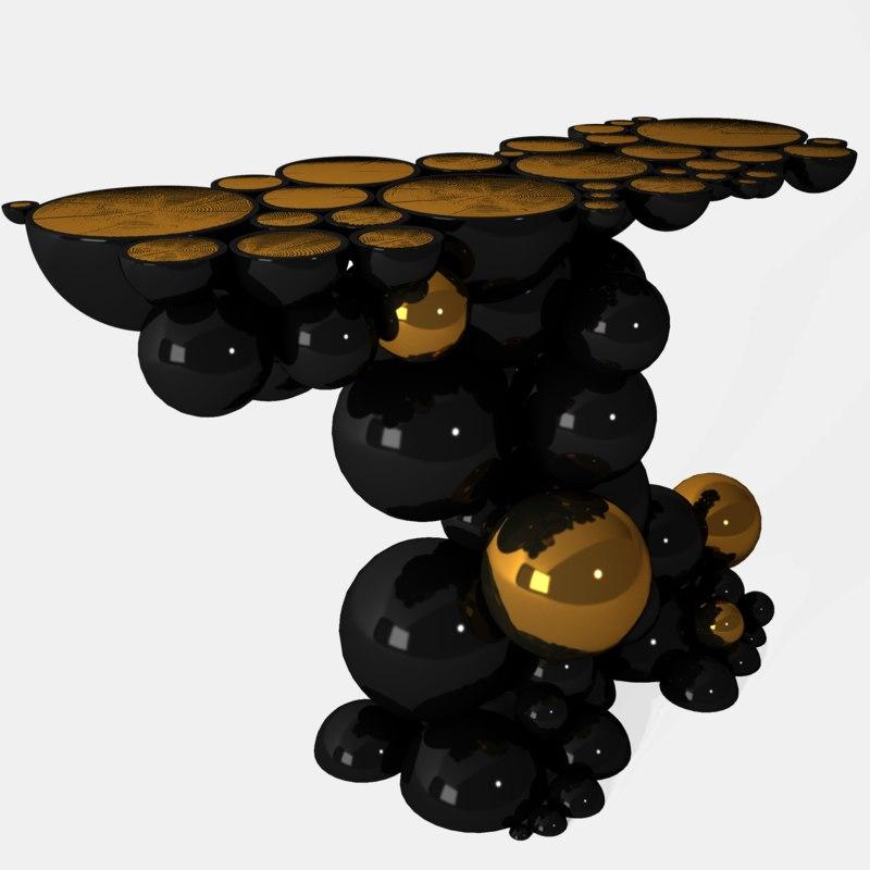 bdl newton console 3D model