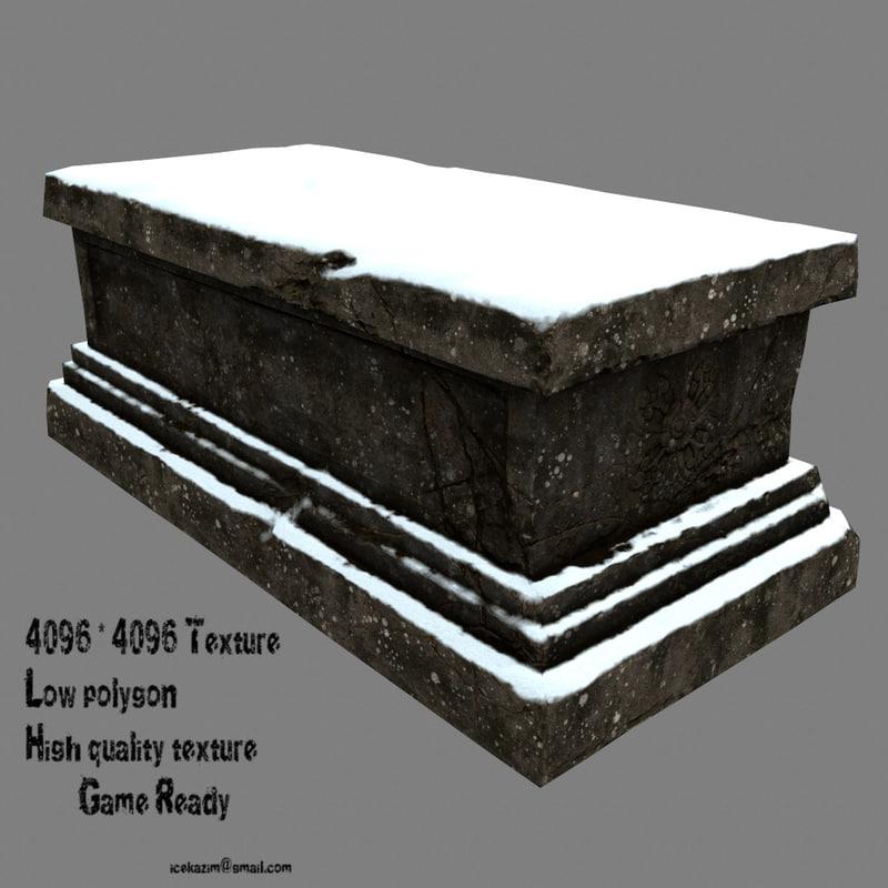 3D base snow model