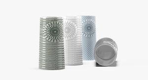 finnsdottir pipanella ceramic vase 3D