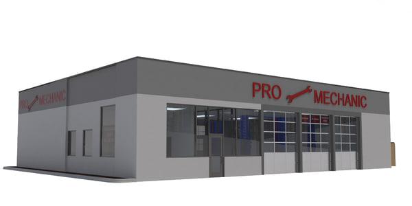3D retail auto service