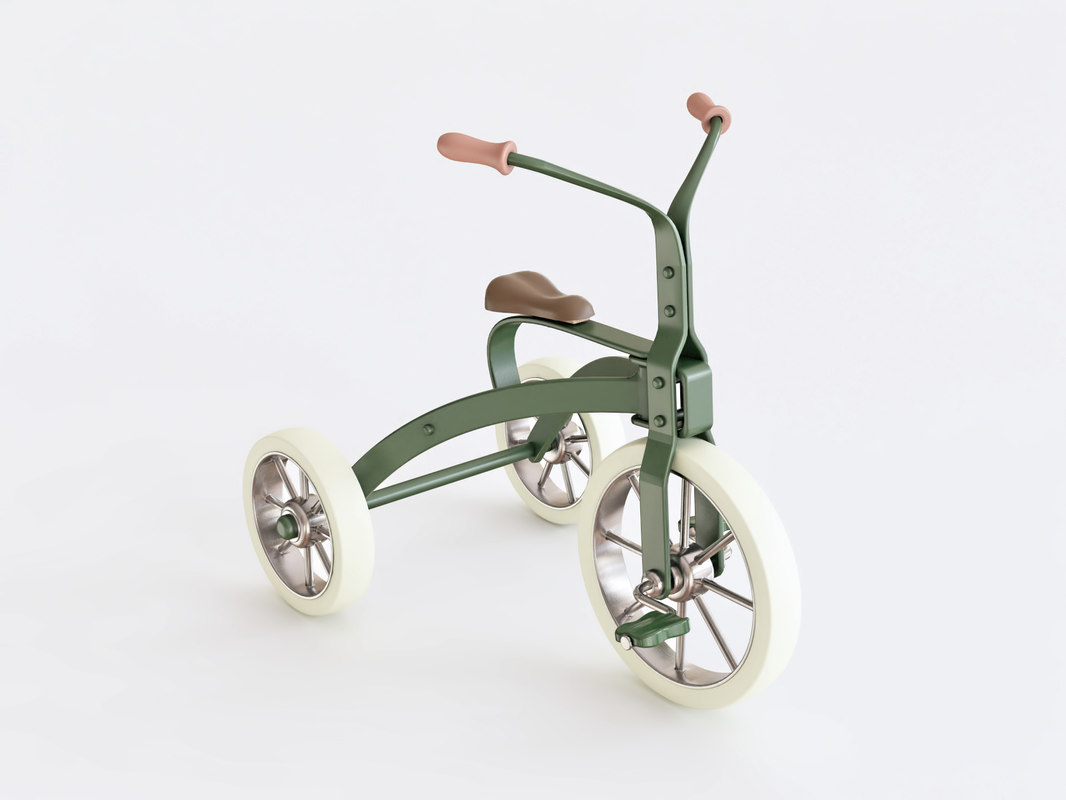 3D tricycle