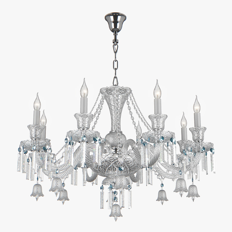 3D 716084 campana osgona chandelier model