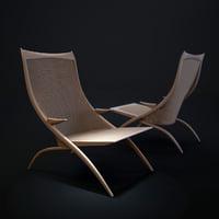 gazelle-lounge-chair 3D