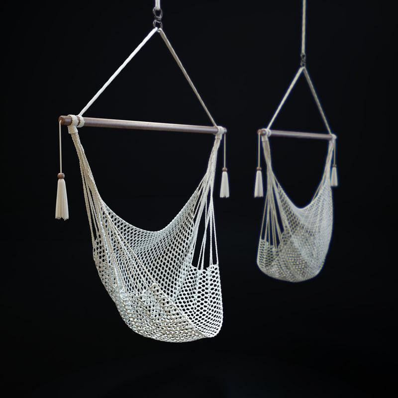 3D hammock-chair