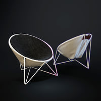 3D la-ferme-chair model