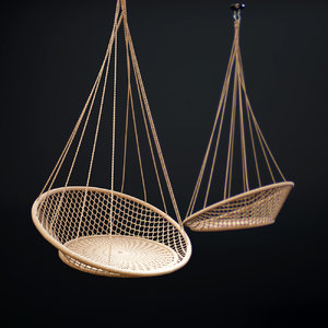 Hanging Chair 3d Models For Download Turbosquid