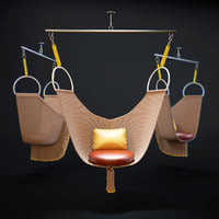 lv-objets-nomades-swing-chair 3D