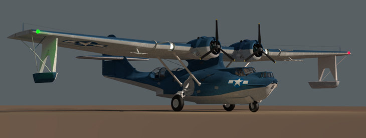 3D consolidated catalina pby model