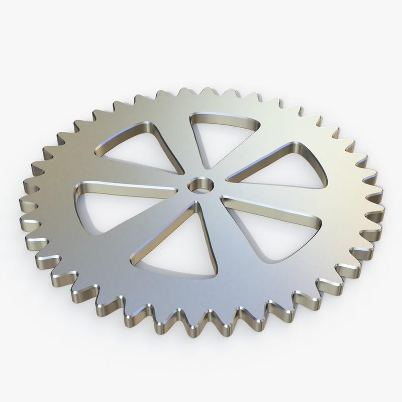 gear 3D model