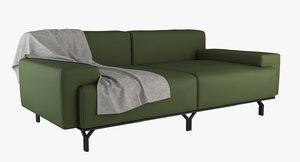 summit sofa 3D model