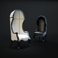 mogul-chair 3D