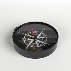 3D toy compass