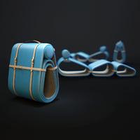 3D model louis-vuitton-objets-nomades-lounge-chair