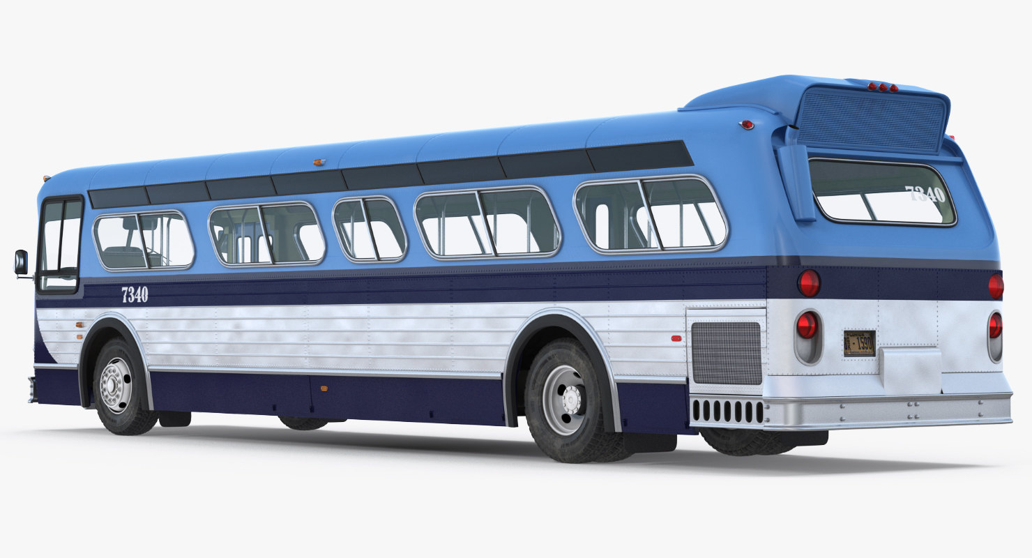 3D transit bus flxible new