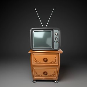 tv table 3D