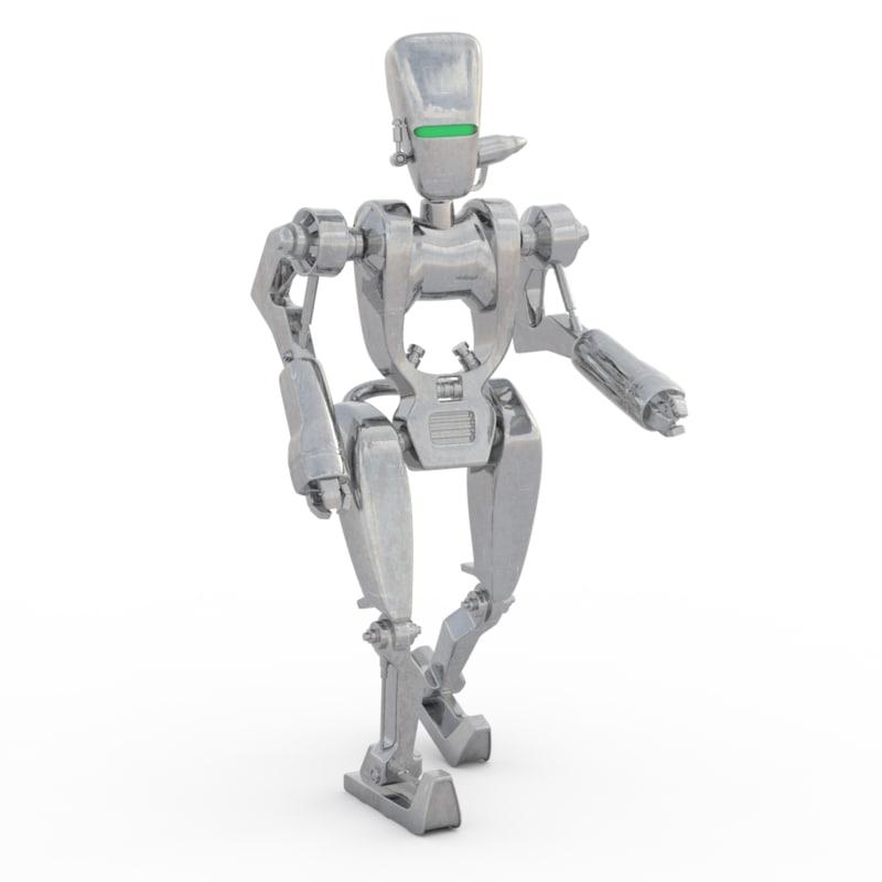 star asps droids 3D model