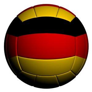 3D model volleyball ball