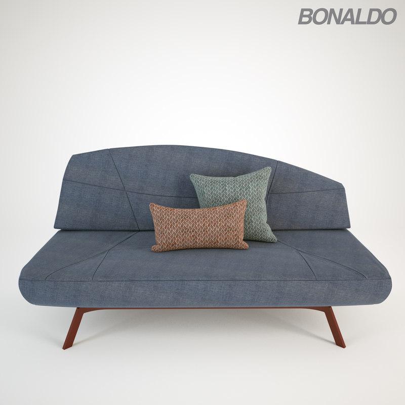 3D sofa-bed sofa seat bed