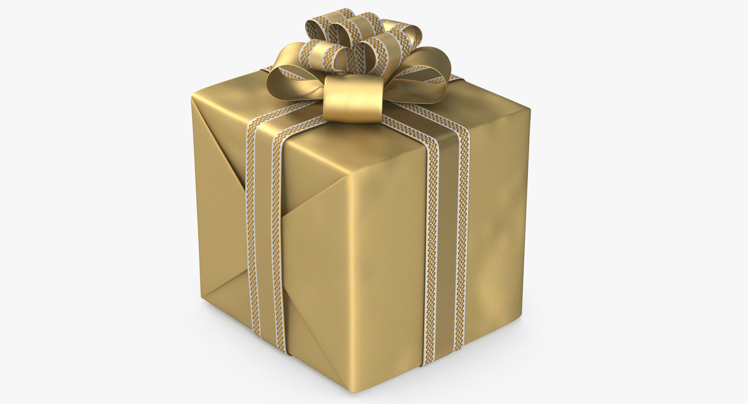 gift box model