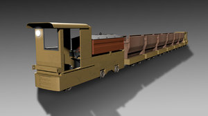 loco mining 3D model