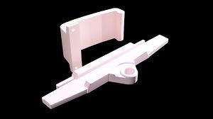 3D dji mavic pro remote model