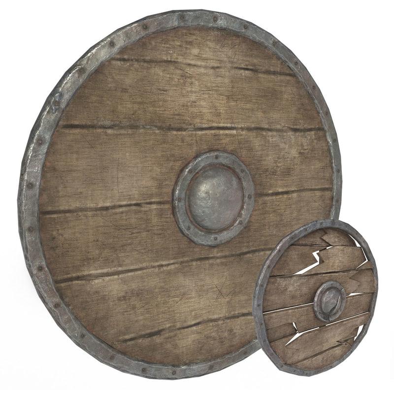 3D model shield games