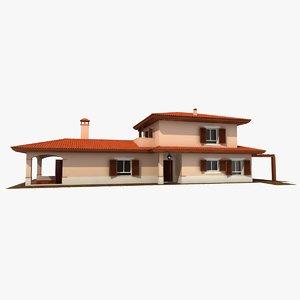 residential villa 3D