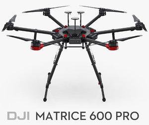 dji matrice 600 pro model