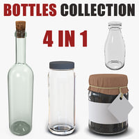 Glass Bottles Collection