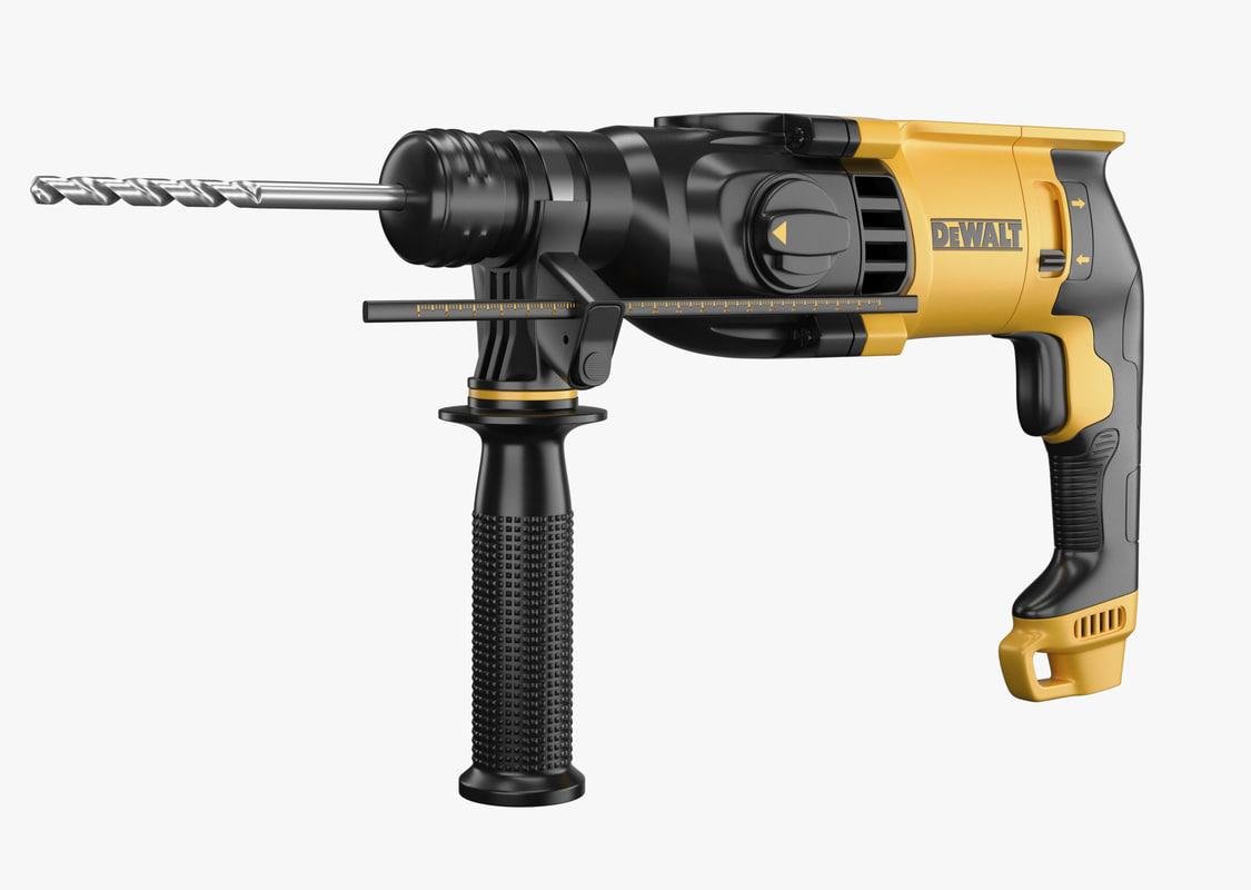 3D rotary hammer dewalt