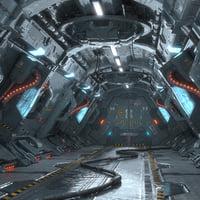 Corridor Sci Fi