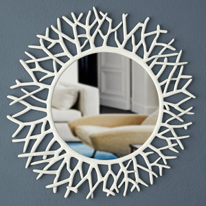 coral mirror zara home 3D model