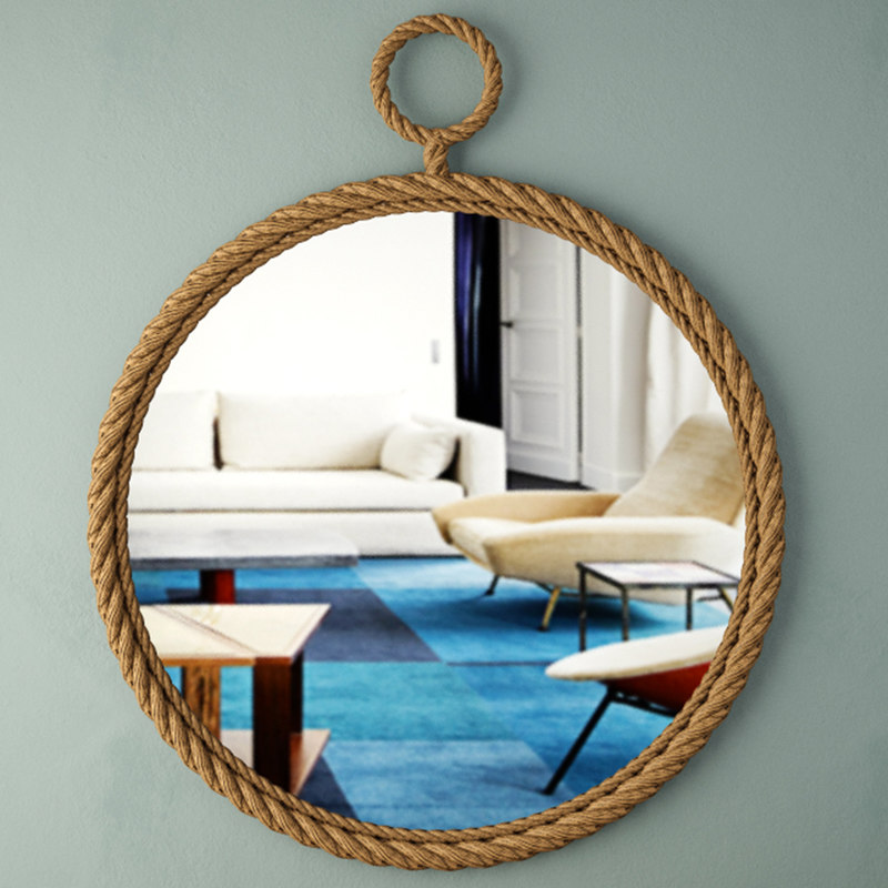 dock wall mirror 3D model