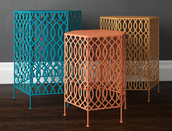 3D hexagon table set