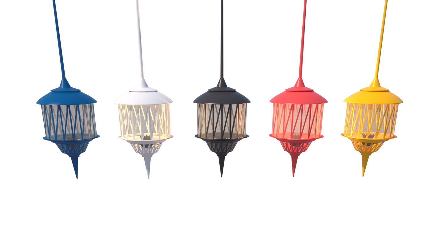 3D moroccan hanging lamps