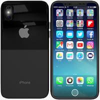 iphone 8 3D model
