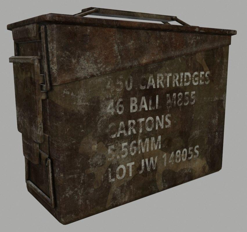 3D ammo box