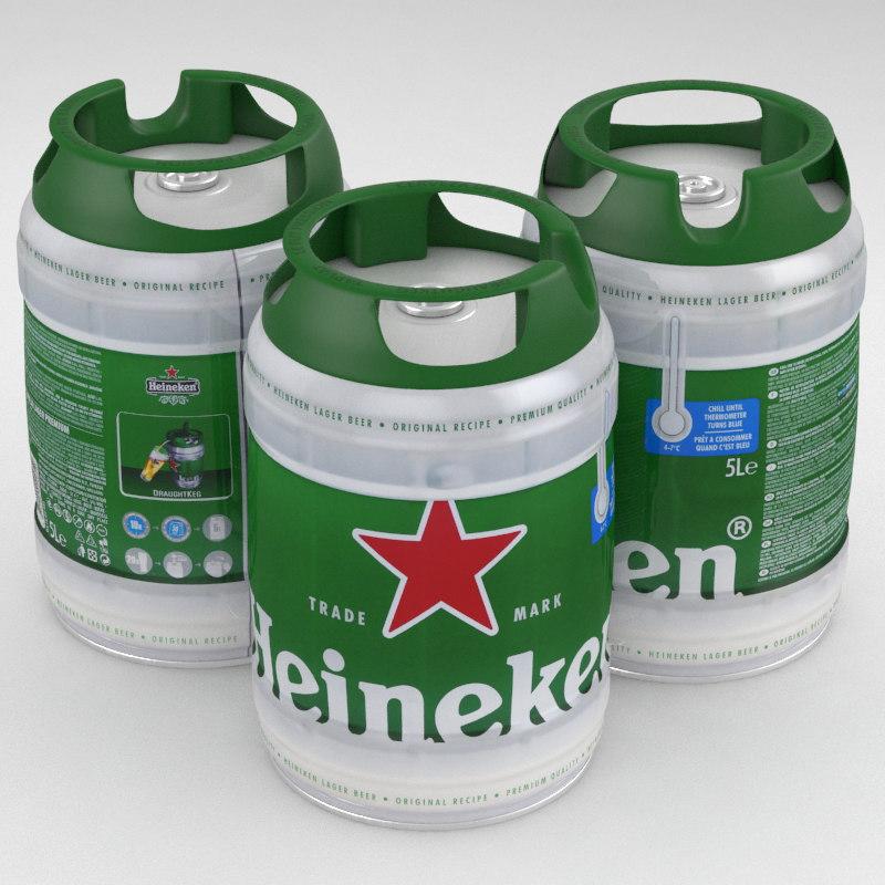 Heineken Keg Can 38023   BAIDATA