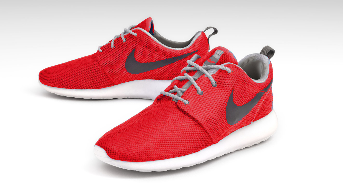 premium selection 06a4f a7800 3D nike roshe run model