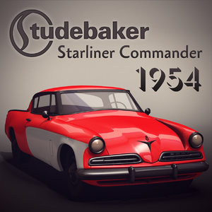 old studebaker starliner commander model