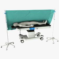 operation room 3D model