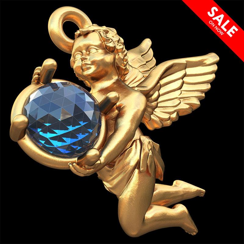 3D golden angel