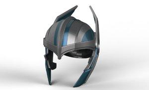 helmet new 3D model